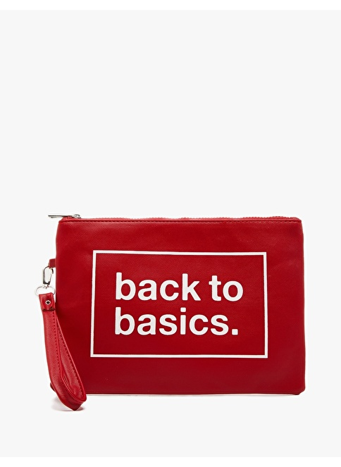 Koton Clutch Çanta Kırmızı